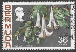 Bermuda. 1970 Flowers, 36c Used. SG 262 - Bermudas