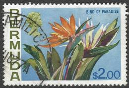 Bermuda. 1970 Flowers, $2 Used. SG 264a - Bermudas