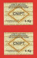 Timbre Fiscal  Taxe Sur Les Pommes De Terre CNIPT - Revenue Stamps