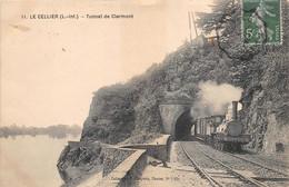 LE CELLIER     TUNNEL DE CLERMONT    TRAIN - Le Cellier