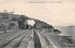 LE CELLIER     TUNNEL DE LA SAULZAIE    TRAIN - Le Cellier