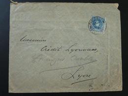 Lettre Cover Oblit. Paquebot Southampton Espagne Spain 1906 - 1889-1931 Kingdom: Alphonse XIII