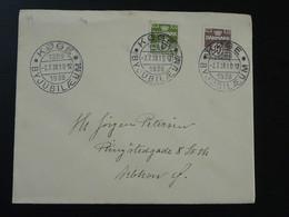 Lettre Cover Koge Jubilaeum Danemark Denmark 1938 - 1913-47 (Christian X)