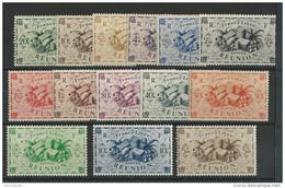 REUNION - YVERT N° 233/246 ** - COTE = 11 EUROS - - Reunion Island (1852-1975)