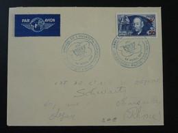 Lettre Affr. Clément Ader Oblit. Congrès Annuel De L'aviation Française Paris 1946 - Luftpost