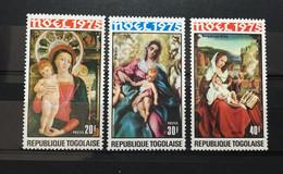 (487) TOGO 1975 : CHRISTMAS PAINTINGS - MNH VF - Togo (1960-...)