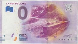 Billet Touristique 0 Euro Souvenir France 74 Mer De Glace 2020-1 N°UEAH018157 - Private Proofs / Unofficial