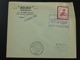 Lettre Cover Automobile Post Office Autopostkantoor Waddinxveen Netherlands 1950 - Postal History
