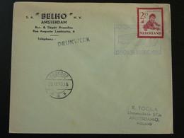 Lettre Cover Automobile Post Office Autopostkantoor Boskoop Netherlands 1950 - Postal History