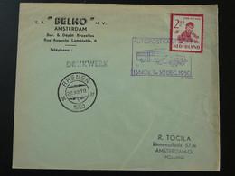 Lettre Cover Automobile Post Office Autopostkantoor Rhenen Netherlands 1950 - Postal History