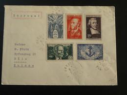 Lettre Express De Hesdin 62 Pas De Calais Pour La Suisse 1951 - 1921-1960: Moderne