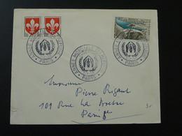 Année International Du Réfugié Refugees International Year Oblit. Sur Lettre Postmark On Cover 1959 - Flüchtlinge