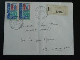 Lettre Recommandée Dieulefit 26 Drome 1970 - 1961-....