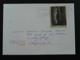 Tableau Painting Georges Seurat Seul Sur Lettre Chassieu 69 Rhone 1991 - Marcophilie (Lettres)