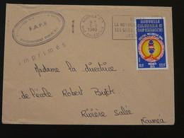 Lettre Flamme Noumea Visitez La Nouvelle Calédonie 1980 (79) - Lettres & Documents