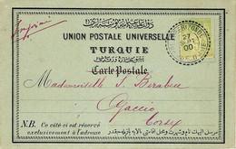 1900- Bureau Français à L'étranger -   C P A Affr. 5 C  Sage  Oblit. Cad TREBIZONDE / TURQUIE D'ASIE - Storia Postale
