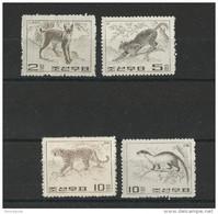 KOREA - YVERT N°545/48 ** - MNH - WILD ANIMALS - Korea, North