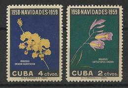 YVERT SERIE N°496/497 ** - FLORE - COTE = 12 EURO - Unused Stamps