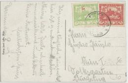TCHECOSLOVAQUIE - 1919 - CARTE De BILIN SAUERBRUNN Pour WIEN (AUTRICHE) - Czechoslovakia