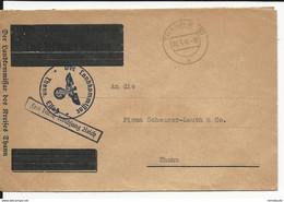 1941 - ALSACE ANNEXEE - HAUT-RHIN - ENVELOPPE (SOUS PREFECTURE + REPUBLIQUE F. BARRES) Du COMMISSAIRE DISTRICT De THANN - Guerra De 1939-45