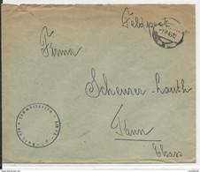 1943 - GG (POLOGNE) - ENVELOPPE FELDPOST De BIALA-PODLASKA => THANN - Gobierno General