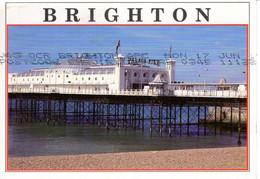 Royaume Uni Angleterre Sussex Brighton 1996 Palace Pier Lefort Le Mans Edifice Monument Batiment Patrimoine Histoire - Brighton
