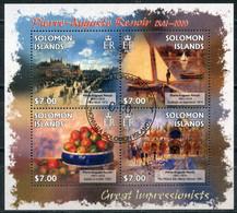 Solomon Islands 2013 SO002 Paintings By Pierre Auguste Renoir, 1841-1919 Painting - Salomoninseln (Salomonen 1978-...)