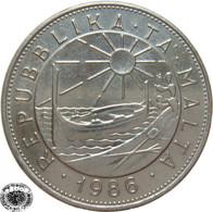 LaZooRo: Malta 1 Lira 1986 XF / UNC - Griechenland