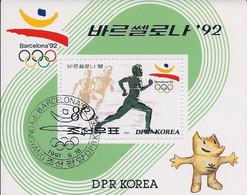 Korea DPK - 1991 -  Pre Olimpic Games Barcelona 29  - Mi  BL 263 - Used - Korea, North
