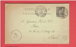 DONNEMARIE 1895 DOMAINE DE GURCY COMMANDE DE PLATRE PAR LE REGISSEUR A GAUVRAIN PLATRIER 46 RUE DE L OURCQ A PARIS - Donnemarie Dontilly