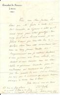 NICE .1810 . LETTRE DU CONSUL DE FRANCE A NICE . DEFLY ADRESSEE A MR JUSTIN CLARY - Documentos Históricos