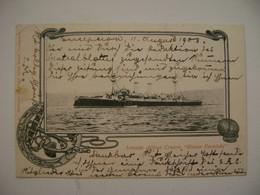 """CHILE - ARMADA CHILENA POST CARD CRUCERO """"BLANCO ENCALADA"""" IN 1903 IN THE STATE - Chile"""