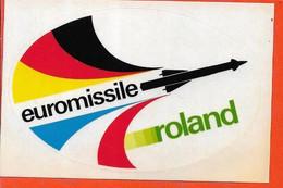 AUTOCOLLANT EUROMISSILE ROLAND - Documenti