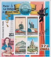 Korea DPK - 1982 -  Philimex Paris 1982  - Mi   - Used - Korea, North