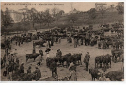 Le Cantal Pittoresque-Marché Aux Bestiaux - France