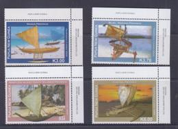 Papua New Guinea 2009 Traditional Canoes Stamps MNH - Papua-Neuguinea