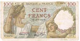 FRANCE BILLET DE 100 FRANCS   HP. 28 -11-1940    N°473                   BI4 - 1871-1952 Circulated During XXth