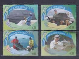 Papua New Guinea 2010 Game Fishing Stamps MNH - Papua-Neuguinea