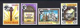 Zanzibar - YT N° 258 à 261 * - Neuf Avec Charnière - 1963 - Zanzibar (1963-1968)