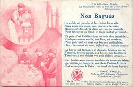 Themes Div-ref FF462-illustrateur Herman -nos Bagues  - Par André Soriac Poilu Au 277eme Regiment Infanterie - Weltkrieg 1914-18