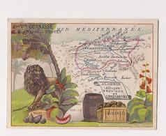 CHROMO CARTE GEOGRAPHIE - Colonies Françaises :PROVINCE DE CONSTANTINE  NOUVEAUTES : CORNESSE TROYES - (Lessertisseux) - - Cromos