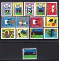 Zanzibar - YT N° 302 à 315 * - Neuf Avec Charnière - 1964 - Zanzibar (1963-1968)