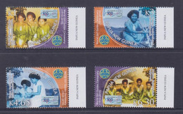 Papua New Guinea 2010 World Girl Guides Centenary Stamps MNH - Papua-Neuguinea