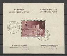 Blok 8 Gestempeld - Blocs 1924-1960