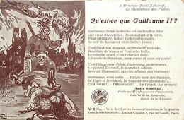 Themes Div-ref FF457-illustrateur Herman -guillaume 2 Le Kaiser  - Par André Soriac Poilu Au 277eme Regiment Infanterie - Weltkrieg 1914-18