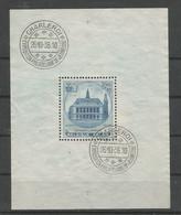 Blok 6 Gestempeld - Blocs 1924-1960