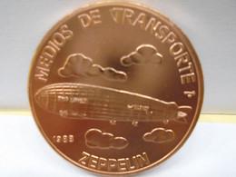 """Cuba, Un Peso 1988, """"MEDIOS DE TRAMPORTE, EL ZEPPELIN """", UNC, MINT. Gracias Por Visitar Mi Pagina. - Cuba"""