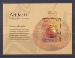 Papua New Guinea 2014 Artifacts Kiriwina Lime Pot S/S MNH - Papua-Neuguinea
