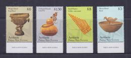 Papua New Guinea 2014 Artifacts Stamps MNH - Papua-Neuguinea