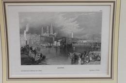 Stahlstich Des BI Hildburghausen: Rouen, Ca. 1837 - Lithografieën